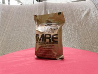 新型 MRE Menu 11 Vegetarian